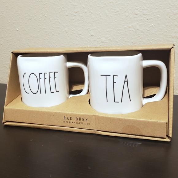 Rae Dunn Other - Rae Dunn COFFEE & TEA Mug Set